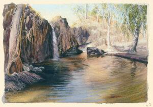 """""""Nettle Creek Falls"""""""