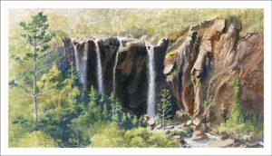 """Afternoon Light, Blencoe Falls"""