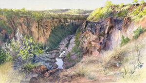 """""""Dawn, Porcupine Gorge"""""""