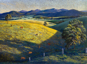 """""""Late Afternoon, Windy Hill"""""""
