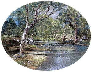 """Water Shadows, Chillagoe Creek"""