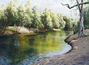 """Reflections, Katherine River"""