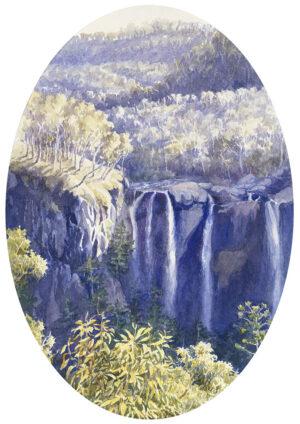 """Morning Light, Blencoe Falls"""